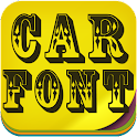 Car Fonts icon