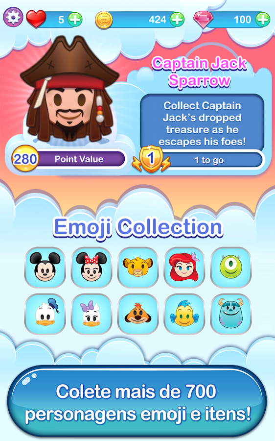 Disney Emoji Blitz - Ducktales: captura de tela