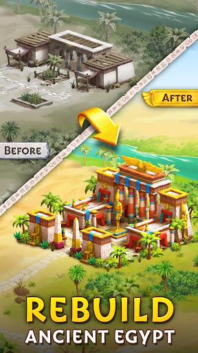 Pyramid of Mahjong: A tile matching city puzzle apkdebit screenshots 4