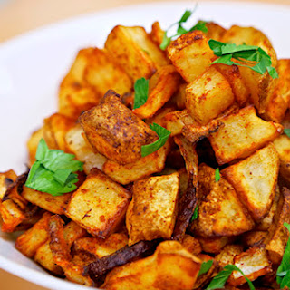 Spicy Baked Home Fries.