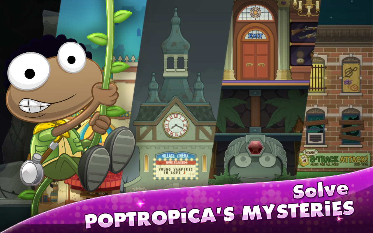 Poptropica- screenshot