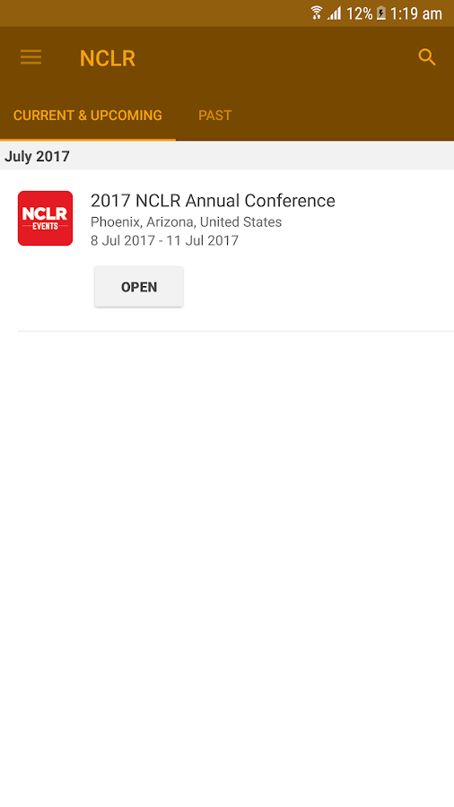 NCLR Annual Conference- screenshot