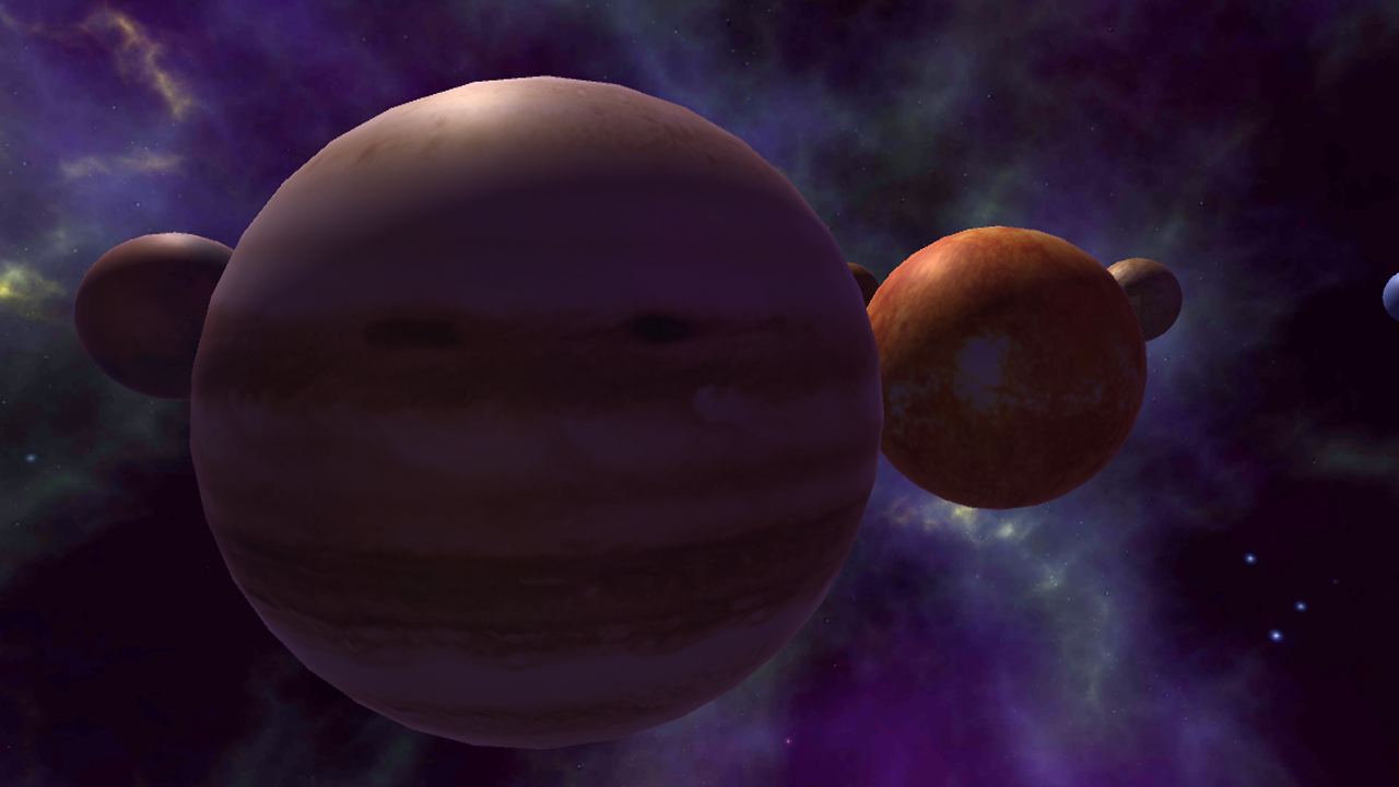 Solar System - Space Museum- screenshot