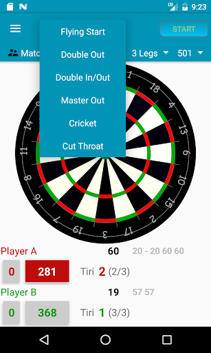 Darts Scorecard  screenshots 1