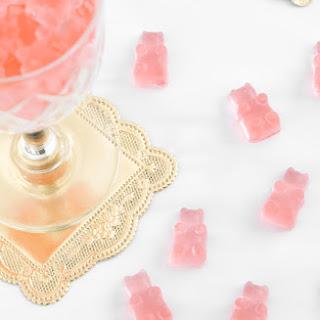 DIY Rosé Wine Gummy Bears.