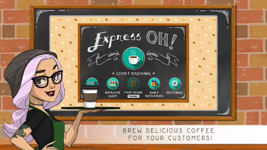 Express Oh: Coffee Brewing Game 1