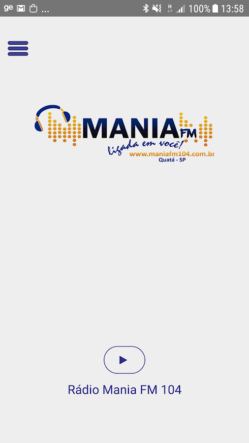 Mania FM 104 - Quatá- screenshot