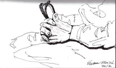 Photo: 恨2012.03.26鋼筆 自古坐牢誰無恨 若為紅顏恨尤深 陷獄方知已別抱 恨恨恨恨恨恨恨!