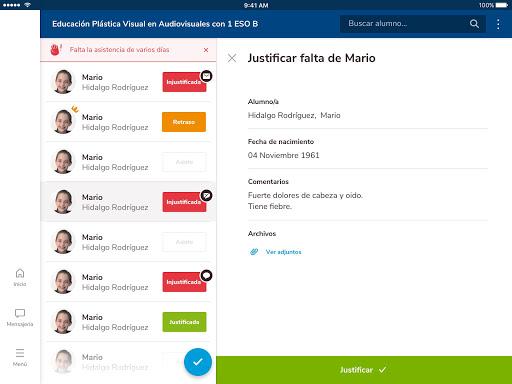 Versión de Séneca para smartphone y tabletas. screenshot 12