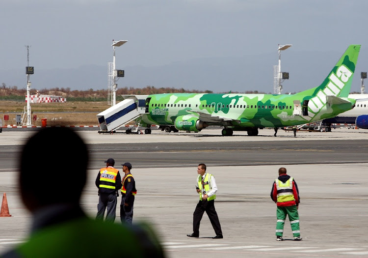 A Kulula aircraft operated by Comair. Picture: SUNDAY TIMES