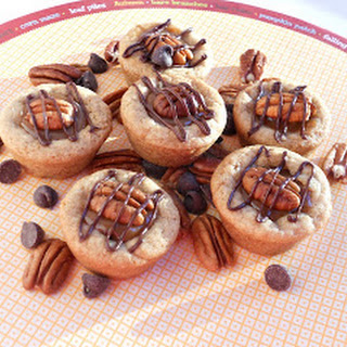 Turtle Cookie Cups