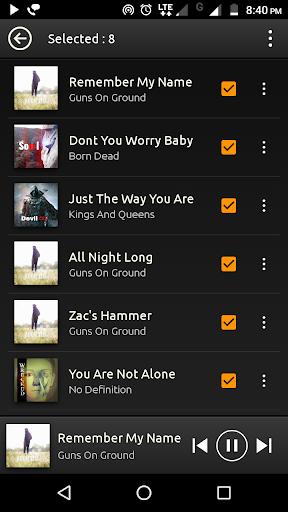 PowerAudio Free - Music Player   Audio Player 5.0.4 screenshots 6