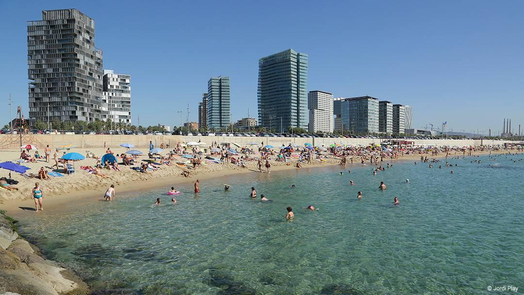 Llevant playa de Barcelona