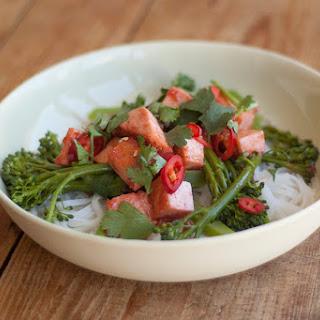 Char Siu Tofu And Broccoli