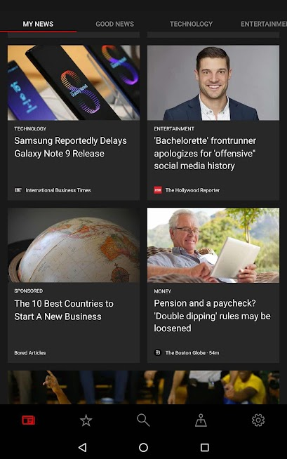 MSN app just revamped into Microsoft News and launched on