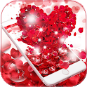 Red Rose Love Theme Wallpaper icon