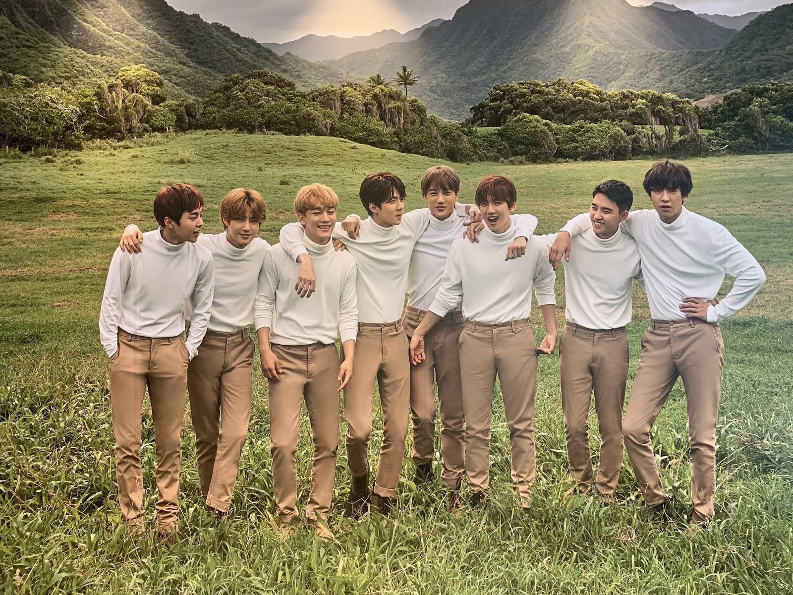 EXO Hawaii Photoshoot