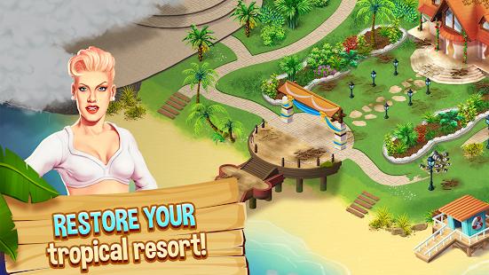 Starside Build Your Match 3 Celebrity Resort Mod Apk Unlimited Coins Life V2 12 Vip Apk