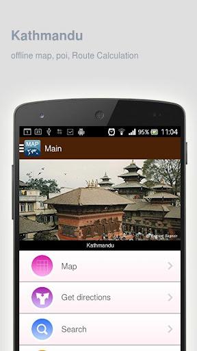 Kathmandu Map offline