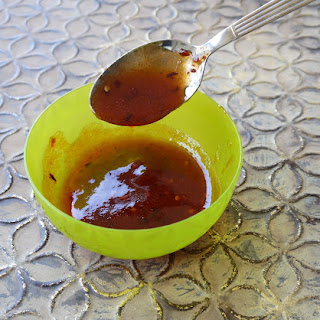 Paleo Sweet and Spicy Dipping Sauce.