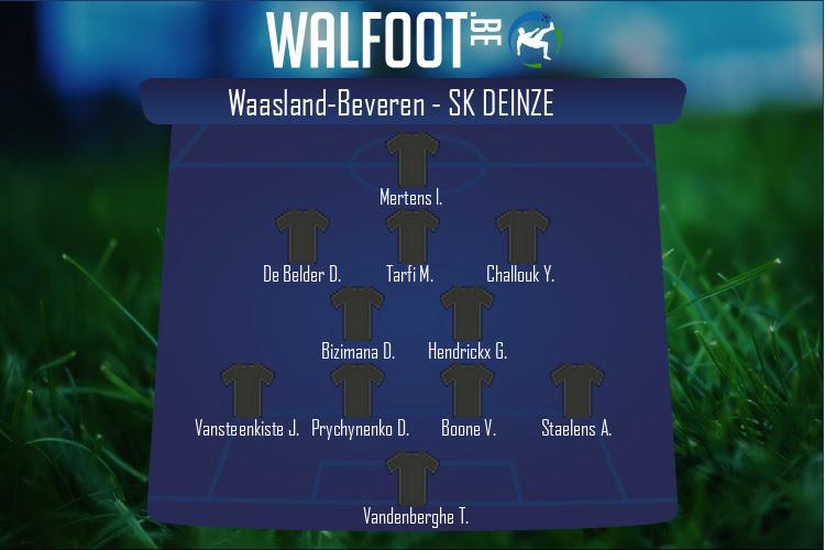 SK Deinze (Waasland-Beveren - SK Deinze)