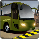 indian army bus driving: military truck mission