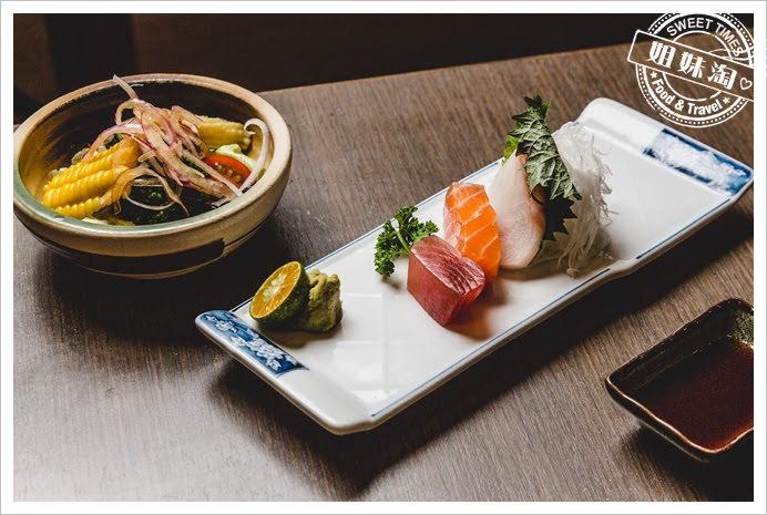浪漫鰻屋生魚片