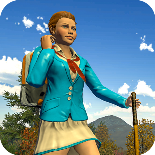 High School Girl Scout Jungle Survival Game