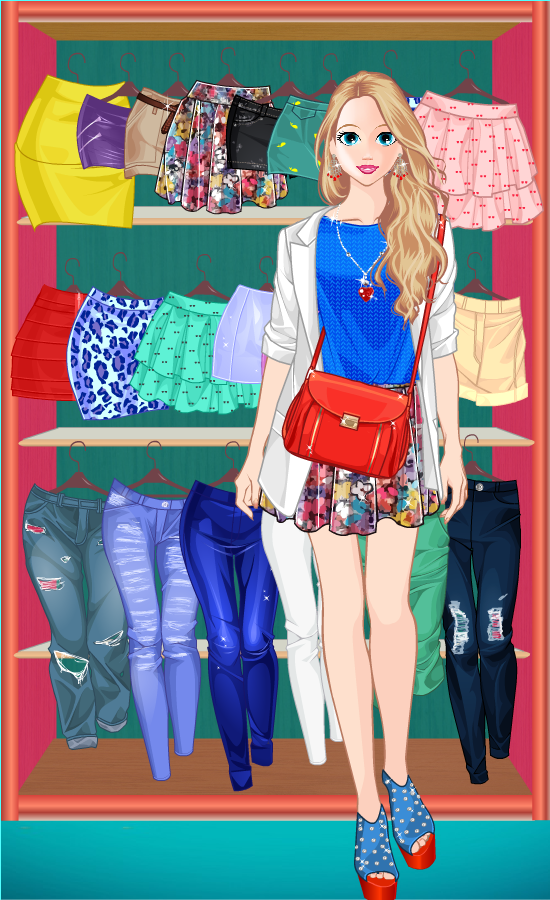 Princess Doll Fashion Dress Up- screenshot