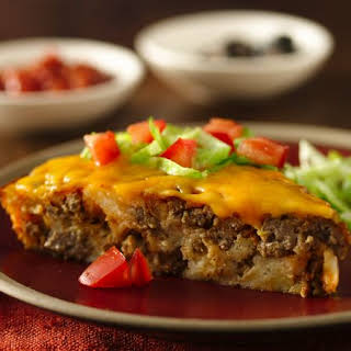 Impossibly Easy Taco Pie.