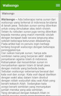 Biografi Walisongo - náhled