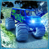 Extremely Off Road  Angry Monsters Truck Simulator