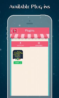 Christmas & New Year Cards - screenshot