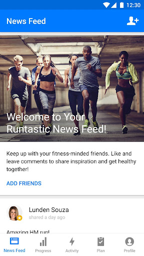 Runtastic Running & Fitness Tracker screenshot 5