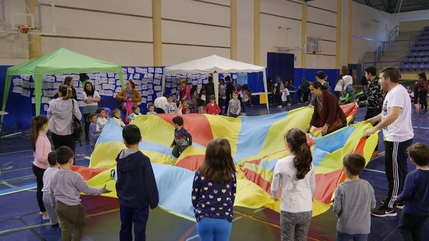 Todos los participantes han disfrutado de todo tipo de juegos y talleres.