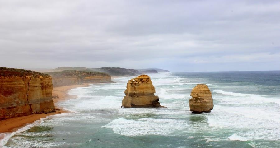 12 Apostles by Ravi Ahuja - Novices Only Landscapes ( sea, rock, ocean, apostles )