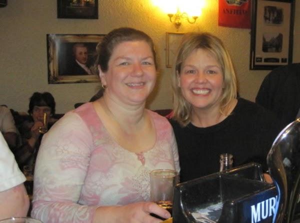 Stephanie & I at a pub in KillarneyHavin meself a wee bit o Jamie