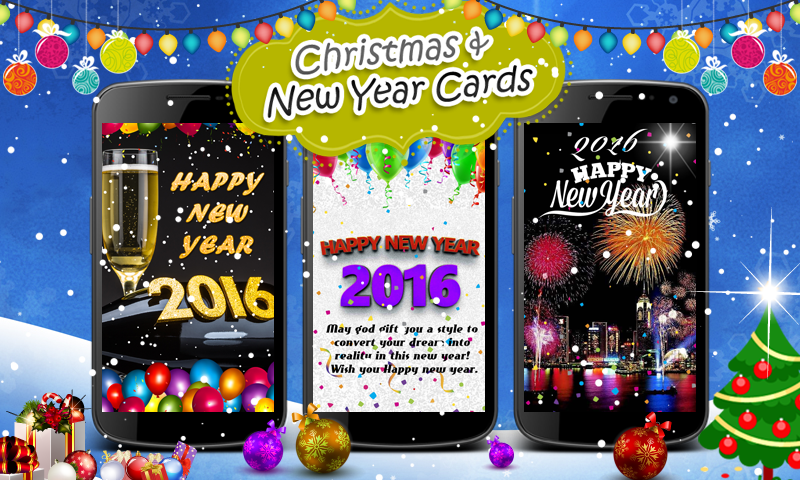 Christmas & New Year Cards- screenshot