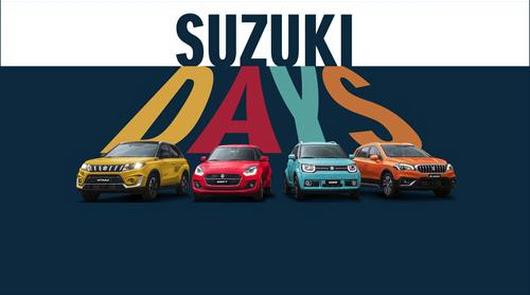 """Llegan los """"Suzuki Days"""" a Playcar"""