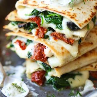 Greek Quesadillas.