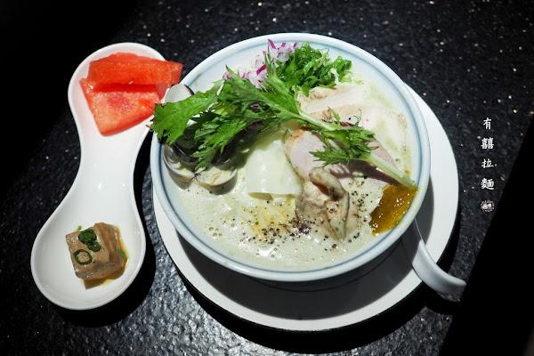 ♥有囍拉麵♥牡蠣V.S雞白湯.海味十足的限定版拉麵,台中火車站周遭美食推薦