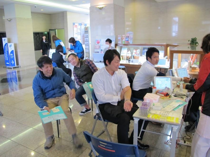 社会貢献活動「献血」