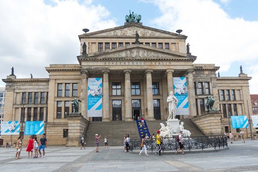 konzerthaus-berlin.jpg -   Konzerthaus Berlin is a concert hall on Gendarmenmarkt square in the central Mitte district of Berlin.