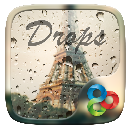 Drops GO Launcher Theme