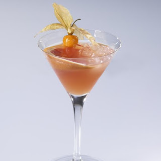 Passion Fruit Cocktail.