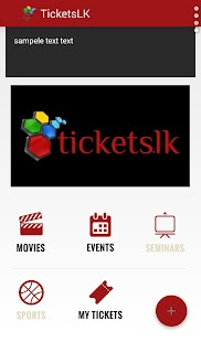 tickets.lk- screenshot thumbnail
