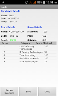 Cert CCNA Practice Exams- screenshot thumbnail