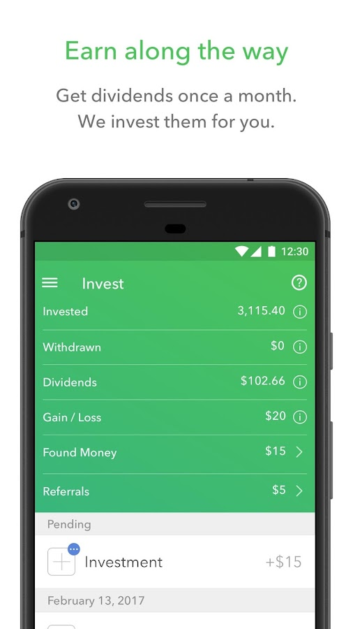 Acorns - Invest Spare Change- screenshot