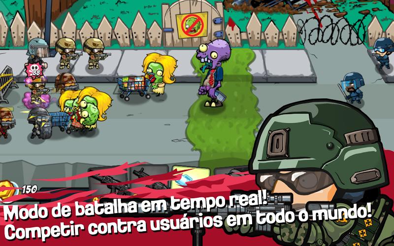 SWAT and Zombies Season 2 – APK MOD HACK – Dinheiro Infinito