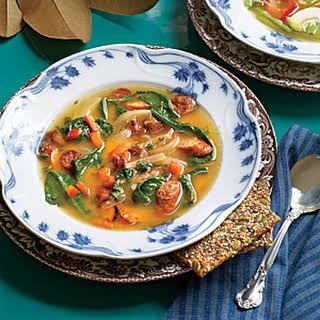 Sausage-and-Sweet Potato Soup.
